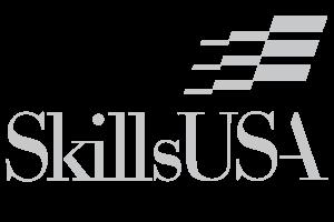 skillsusa white logo